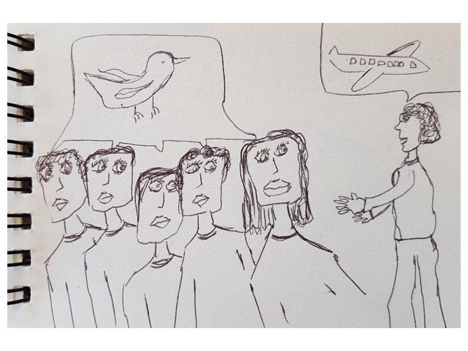 dessin élève annemarieDelecq